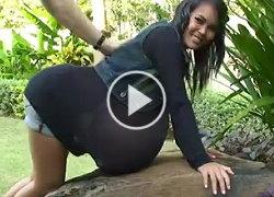 farang ding dong  big tits bouncing